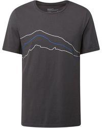 ARMEDANGELS Regular Fit T-Shirt aus Bio-Baumwolle Modell 'Jaames' - Grau