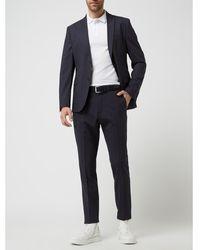 s.Oliver BLACK LABEL Slim Fit Pantalon Met Stretch, Model 's.oultimate' - Blauw