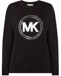MICHAEL Michael Kors Sweatshirt mit Logo-Print - Schwarz