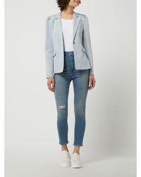 ONLY Blazer Met 1-knoopssluiting, Model 'tasia-vike' - Blauw