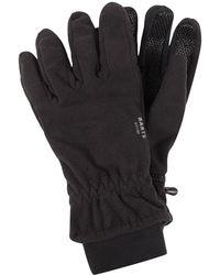 Barts Handschuhe aus Fleece Modell 'Storm' - Schwarz