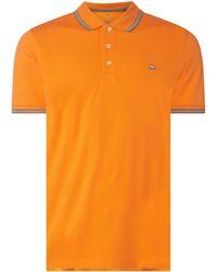 Christian Berg Men Poloshirt aus Supima®-Baumwolle Modell 'Perino' - Orange