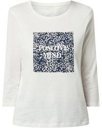 Tom Tailor Shirt aus Bio-Baumwolle - Weiß
