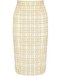 L'Wren Scott Sequined Silk Pencil Skirt - Lyst