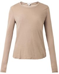 James Perse Longsleeved Finejersey Tshirt - Lyst