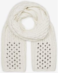 French Connection Lily Beaded Scarf - Lyst