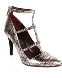 Report Signature Daycee Suede Cage Pumps - Lyst