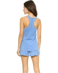 Honeydew Intimates - Burnout French Terry Tank - Rip Tide - Lyst