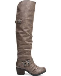 Carlos By Carlos Santana Emily Over-the-knee Boots - Gray