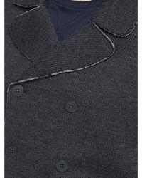 Diesel Mens K Ilan Knitted Peacoat - Lyst