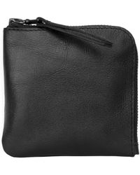 Xenab Lone - Black Leather Coin Purse - Lyst