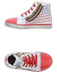 Enrico Fantini Multicolor Hightops  Trainers - Lyst
