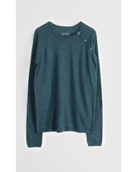 Zadig & Voltaire Sweater Reglis Mixpatch Lc - Lyst