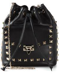 Valentino 'Rocsktud' Shoulder Bag - Lyst