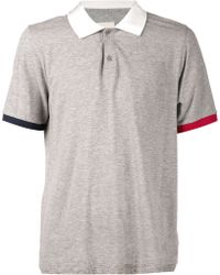 Band Of Outsiders Trap Pocket Polo Shirt - Lyst