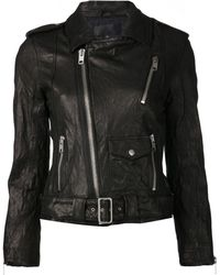 Nili Lotan Moto Jacket - Black