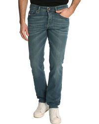 Diesel Blue Buster Regular Slim Jeans - Lyst