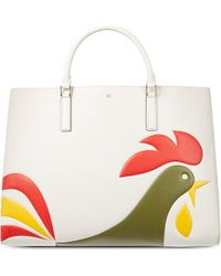 Anya Hindmarch Ebury Maxiweight Cornflakes Tote - Lyst