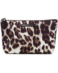 Diane von Furstenberg Voyage Small Nylon Cosmetic Bag - Lyst