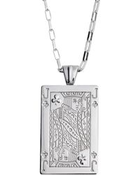 Sarah Ho - Sho - Casino Jack Of Clubs Pendant - Lyst