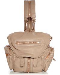 Alexander Wang | Mini Marti Rose Gold Backpack | Lyst