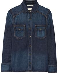 Rag & Bone Kensington Denim Shirt - Lyst
