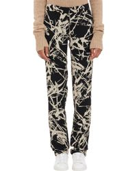 A.L.C. Brushstrokeprint William Pants - Lyst
