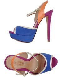 Schutz Sandals - Lyst