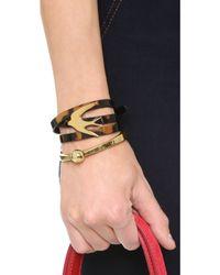 Adia Kibur - Sphere Bangle Bracelet - Lyst