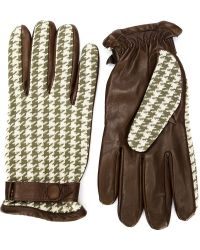Orley | Houndstooth Gloves | Lyst