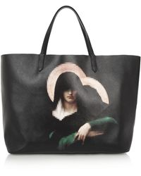 Givenchy Antigona Shopping Bag in Printed Coated Canvas - Lyst