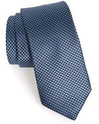 Michael Kors 'Boxer Neat' Woven Silk Tie - Lyst