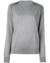Alexander Wang Cape-effect Silk and Cashmere-blend Sweater - Lyst