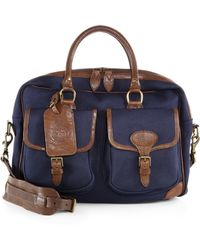 Polo Ralph Lauren - Twill Canvas Commuter Bag - Lyst 73f3dfd46a