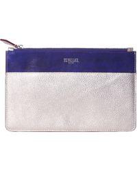 MZ Wallace Bo Blue Leather - Purple