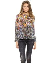 Roseanna Chase Floral Top  Multi - Lyst