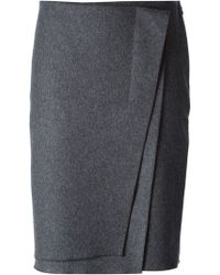 Nina Ricci Layered Wrap Skirt - Lyst