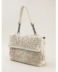 Bottega Veneta Intrecciato Shoulder Bag - Lyst