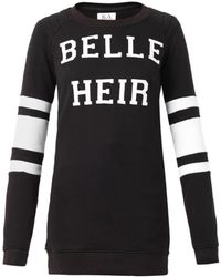 Zoe Karssen Belle Heir-Print Sweatshirt - Lyst