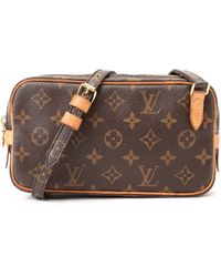 Louis Vuitton Brown Messenger Bag brown - Lyst