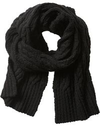 Banana Republic Heritage Graphic Scarf - Black - Lyst