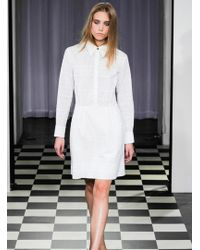 Antipodium - White Broderie Anglaise Cracklin Rosie Dress By - Lyst