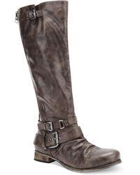 Carlos By Carlos Santana Hanna Wide Calf Tall Shaft Boots - Lyst