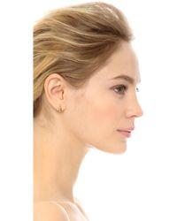 House of Harlow 1960 - Kinetic Huggie Earrings - Gold - Lyst