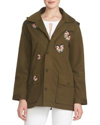 Cece by Cynthia Steffe - Embroidered Butterfly Jacket - Lyst