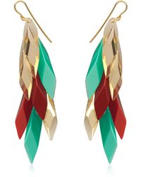 Silvia Rossi - Red Wisteria Earrings - Lyst