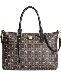 Tommy Hilfiger Tommy Club Coated Logo Convertible Shopper - Lyst