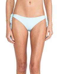 Mikoh Swimwear Dreamland String Tie Bottom - Lyst