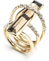 Alexis Bittar Orbiting Layered Ring - Lyst