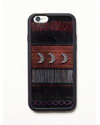 Free People Tribe Embellished Iphone Case - Black